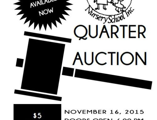 Quarter Auction, Supporting the Rockwood Nursery School!