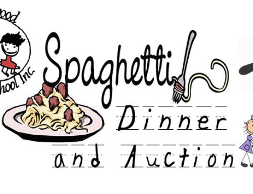 Community Support Needed For Our Spaghetti Dinner and Auction
