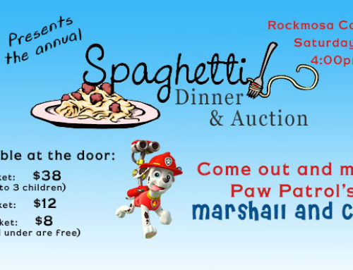 Please help support our 2017 Annual Spaghetti Dinner & Auction