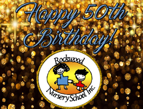 Happy 50th, Rockwood Nursery School!